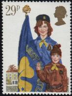 Girl Guide Stamp
