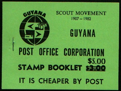 Guyana booklet 2, 3 and 4