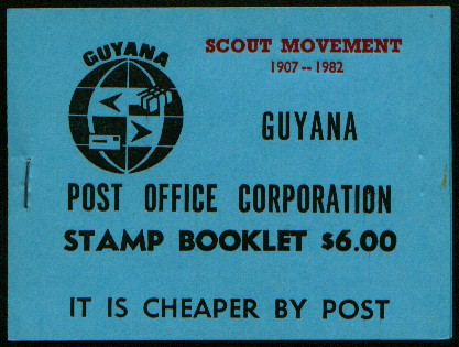 Guyana booklet 1, 5 and 6