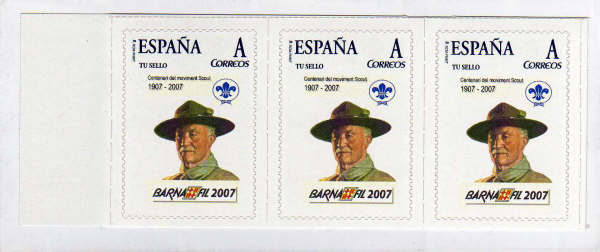 Spain 2007 (stamps)