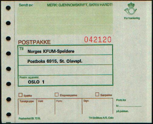 what is parcel post mail used for
